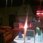 diner @ restaurant Hotel Orchide